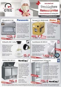 Gastro-Seller Unschlagbare Hammerpreise Flyer