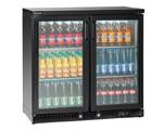 Bartscher Flaschenkühler 220l schwarz