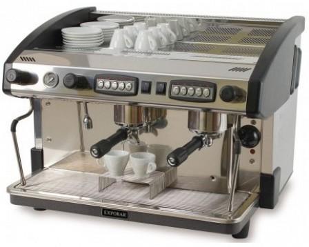 expobar espressomaschine new elegance control 2 gruppen. Black Bedroom Furniture Sets. Home Design Ideas