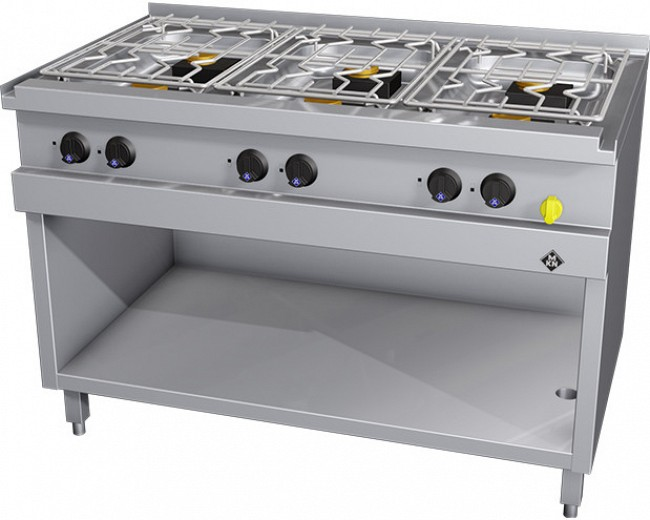 MKN Gasherd 6 Flammig Optima 700