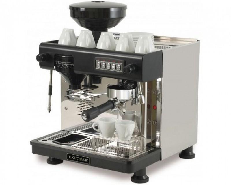 expobar espressomaschine office control 1 gruppe mit m hle. Black Bedroom Furniture Sets. Home Design Ideas