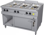 MKN Gasherd 6 Flammig mit G-Backofen Optima 850
